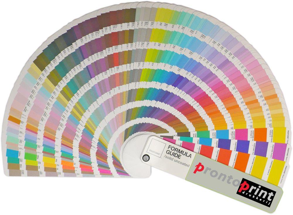 PMS kleurenwaaier